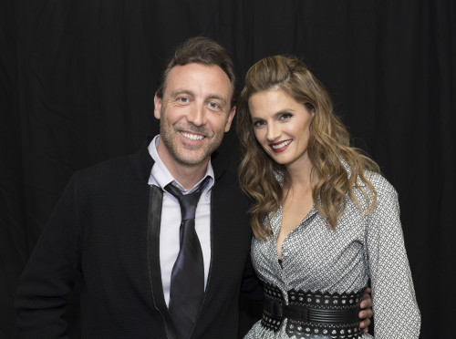 Photo Call with Stana Katic in Beverly Hills.