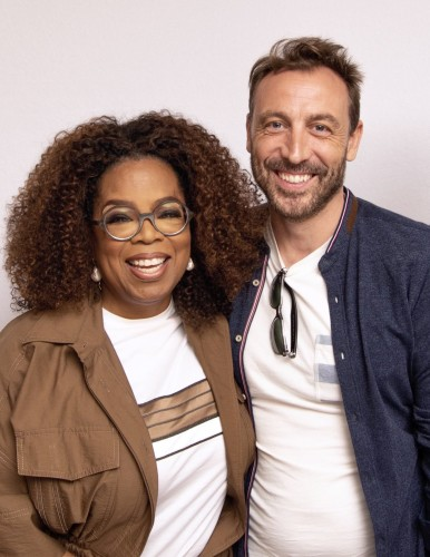 Oprah_Winfrey_and_Tarell_Alvin_McCraney; David_Makes_Man